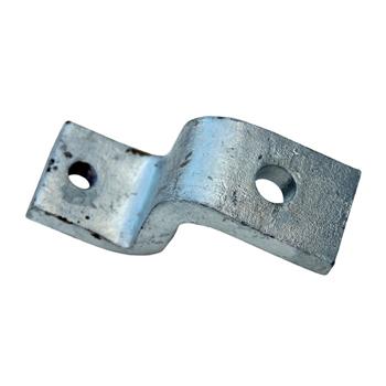 Channel Bracket Z Shaped Hot Dip Galvanised Steel P1347 (W) 88mm x (D) 48mm