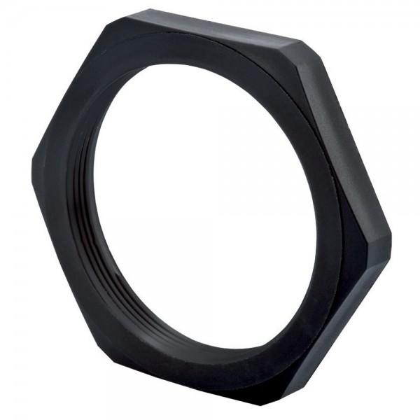 Nylon Locknut M32 Black