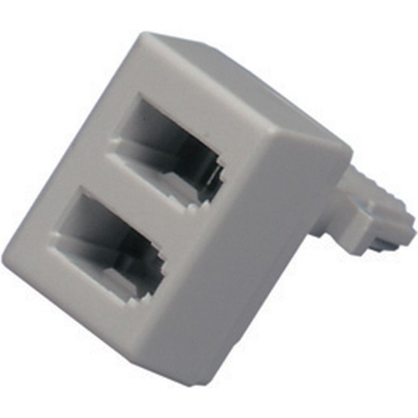 Line Jack Doubler 631A Plug – 2x 631A Socket 10/3C White
