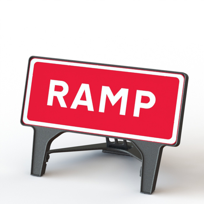 Q' Sign Ramp