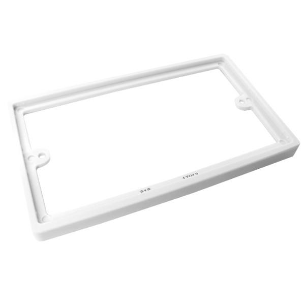 Backbox Spacer Double Gang White (D) 10mm