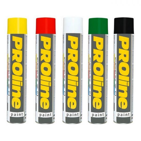 Temporary Marker Paint Yellow Volume 750ml