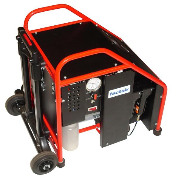 Electric Fibrevane Compressor Blown Fibre 110v 10 bar Weight 25Kg