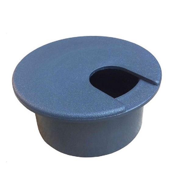 Desk Grommet Grey Desk Cut-Out Size 75mm