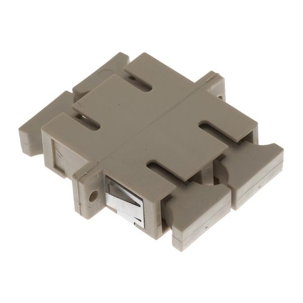 Fibre Optic Adaptor SC Duplex MM Bronze Beige