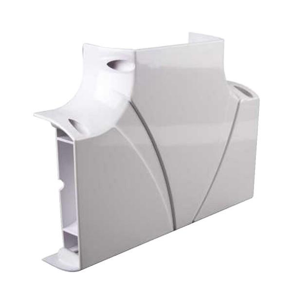 Dado Trunking Ultimate 60 Flat Tee White