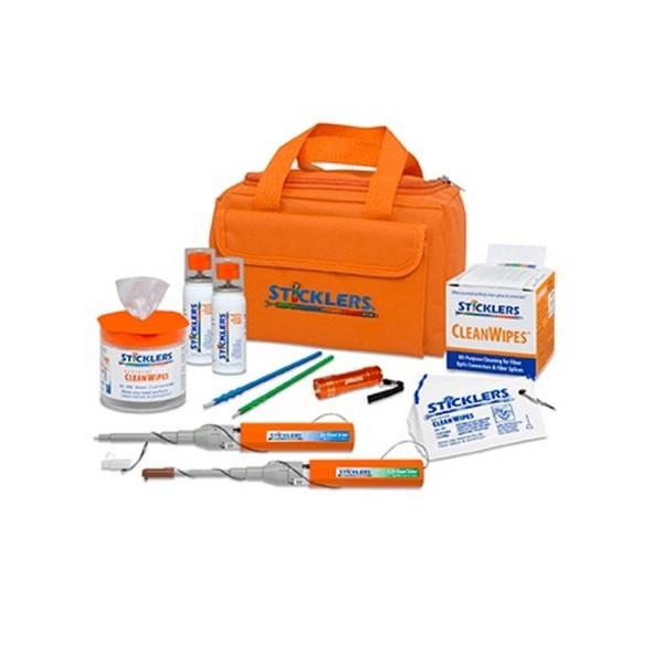 Sticklers High-Volume Fibre Optic Cleaning Kit 2,300+ MCC-FK08 Orange