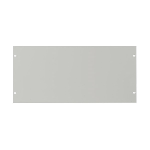 Blanking Panel Plain 4U 19″ Grey