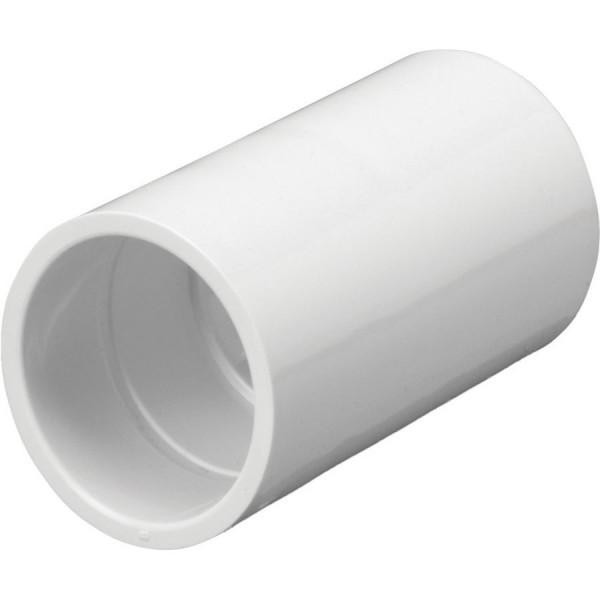 Conduit Coupler PVC White (Dia) 25mm