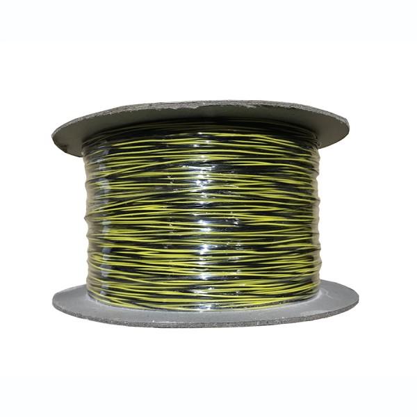 Jumper Wire CW1321 1 Pair Black/Yellow (L)500Mtr