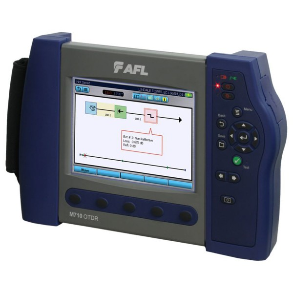 M710 Compact OTDR with OPM