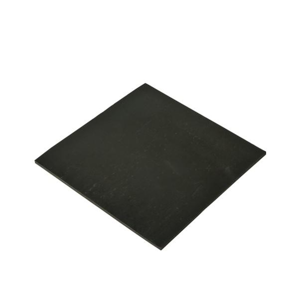 Fibre Optic Polishing Pad Neoprene FS700 Black (H) 140mm x (W) 140mm x (D) 3mm