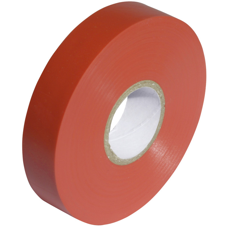Tape PVC Red 25mm x 20m