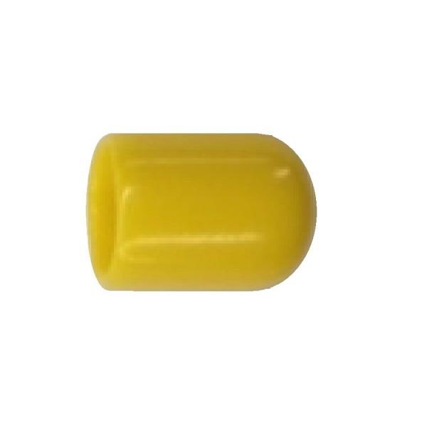 Fibre Ducting Bolt/Nut Cap (Cap Only) Rubberised Plastic F-FCM10-Y Yellow Set