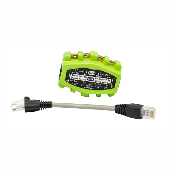 Jack Test Adaptor 8 Wire – RJ45 Plug