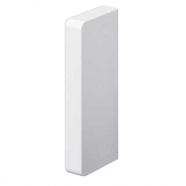 Dado Trunking Ultimate 60 End Cap White