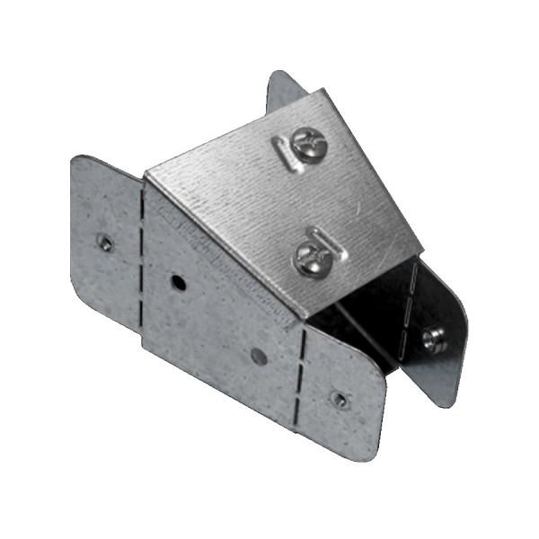 Trunking Reducer 100mm – 50mm Pre-Galvanised AFLR44-22