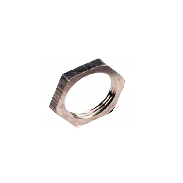 Locknut M50 Nickel Plated Brass