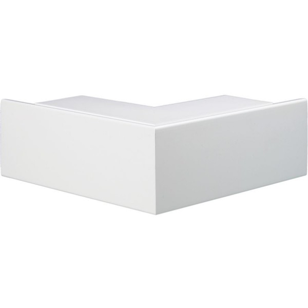 Trunking Maxi External Angle Fabricated PVC TRK – Heavy Duty White (H) 100mm x (D) 50mm