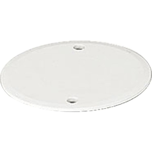 Lid For Circular Junction Box Lid White (Dia) 65mm