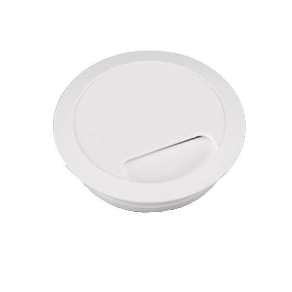 Desk Grommet White Desk Cut-Out Size 80mm