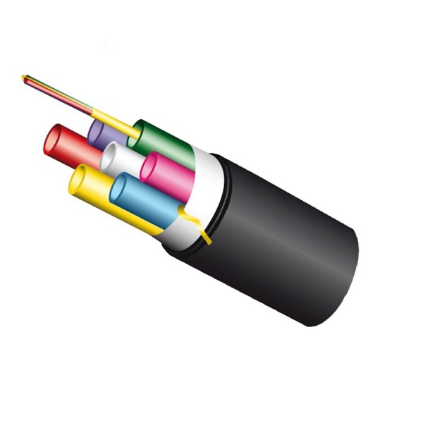 Blown Fibre Tubes Double HDPE Sheath External Direct Burial 4 Tubes (Dia)22.3mm