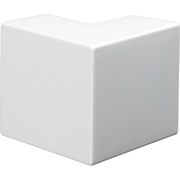Trunking Midi External Angle PVC White (H) 50mm x (D) 50mm