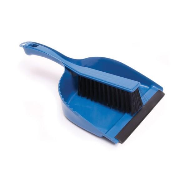 Dustpan & Brush Set Blue
