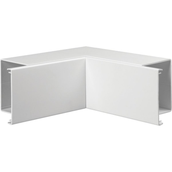 Trunking Maxi Internal Angle Fabricated PVC TRK – Heavy Duty White (H) 100mm x (D) 100mm