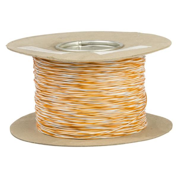 Jumper Wire CW1321 1 Pair Orange/White (L)500Mtr