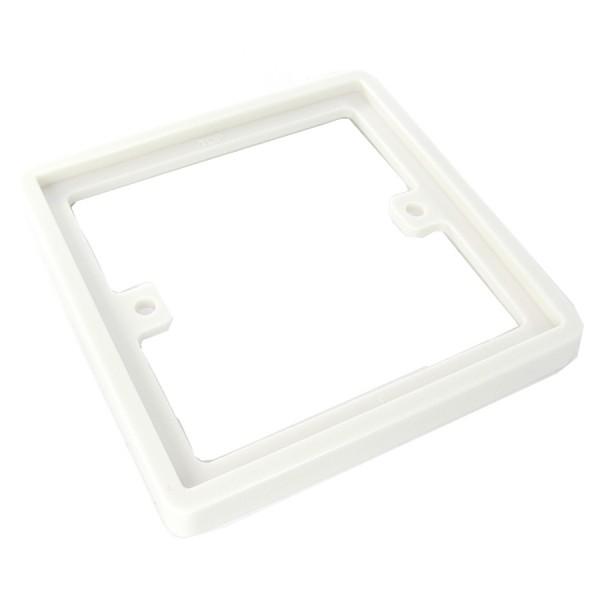 Backbox Spacer Single Gang White (D) 10mm