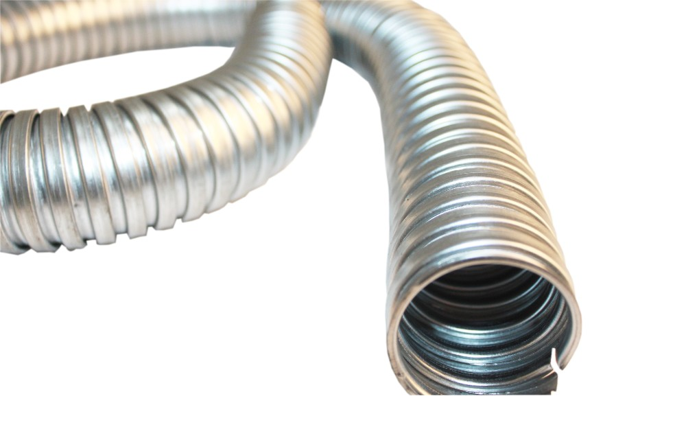 Galv Steel Conduit FU Flexible Corrugated LSZH (L) 10m (Dia) 50mm