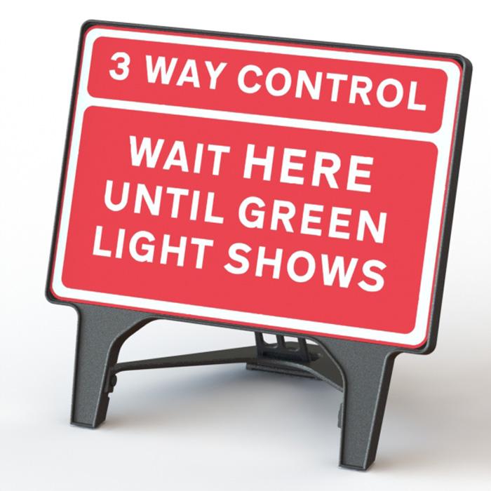 Q' Sign 3 Way Control