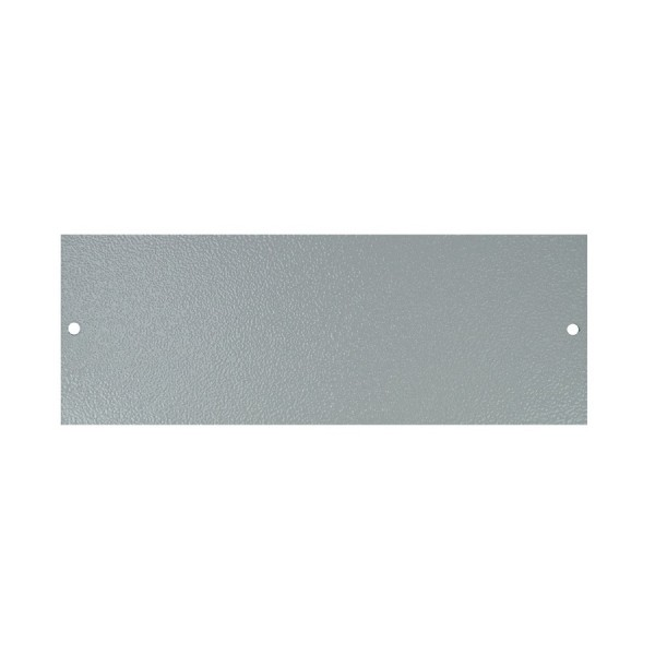 Floor Box Blanking Plate (For 4 Way) Grey (H) 68mm x (L) 185mm