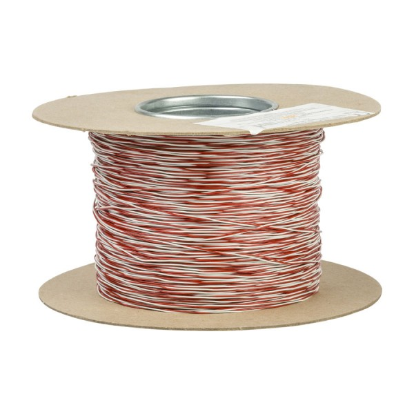 Jumper Wire CW1321 1 Pair Red/White (L)500Mtr