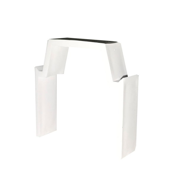 Trunking Maxi Cable Retainer PVC TRK – Heavy Duty White (H) 75mm x (D) 75mm