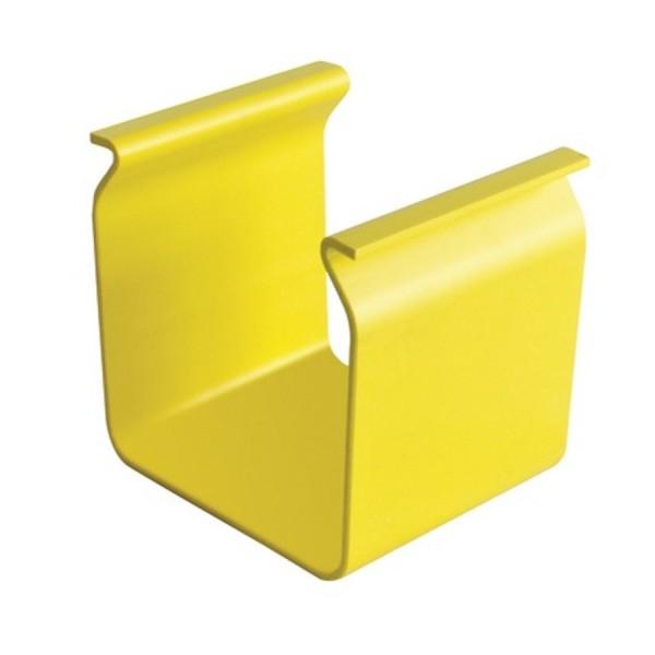 Fibre Ducting Fitting Splice Plastic LSZH Yellow (H) 100mm x (W) 100mm