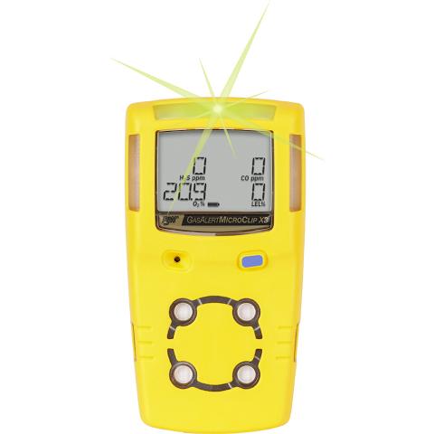 BW 4 Gas Detector Microclip X3