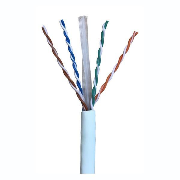 Cat6 Data Cable Solid U/UTP LSZH 4 Pair White 305m