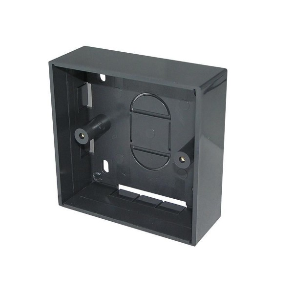 Backbox Single Gang Black (D) 32mm