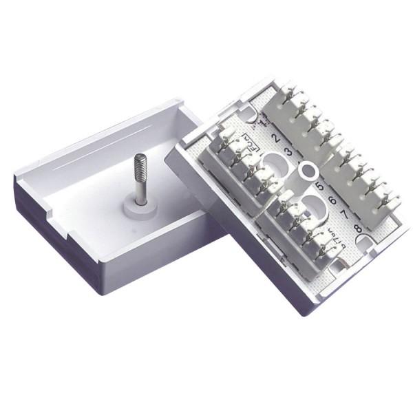 Block Terminal 78A 4 Pair IDC (H)56mm x (W)42mm x (D)23mm Conductor Dia 0.4mm-0.65mm