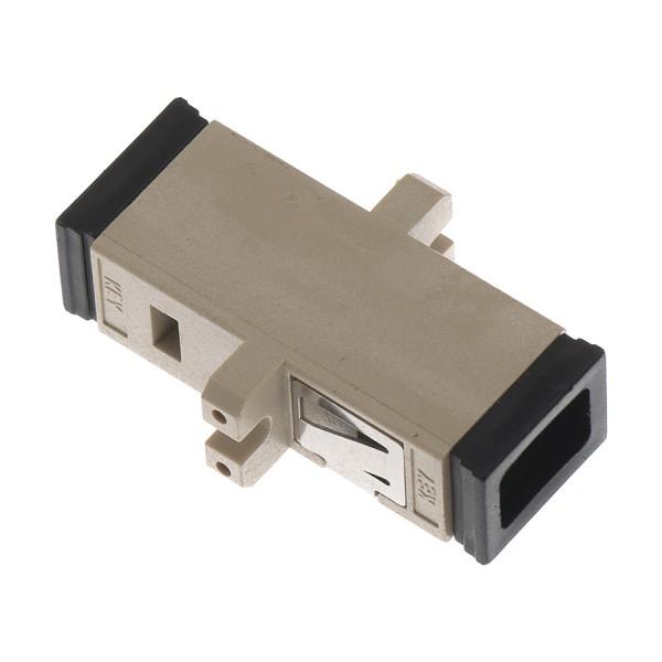 Fibre Optic Adaptor MTRJ Duplex MM Black
