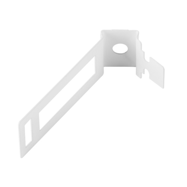 Safe-D Conduit Clip Fire-Rated Coated Steel White (Dia) 25mm