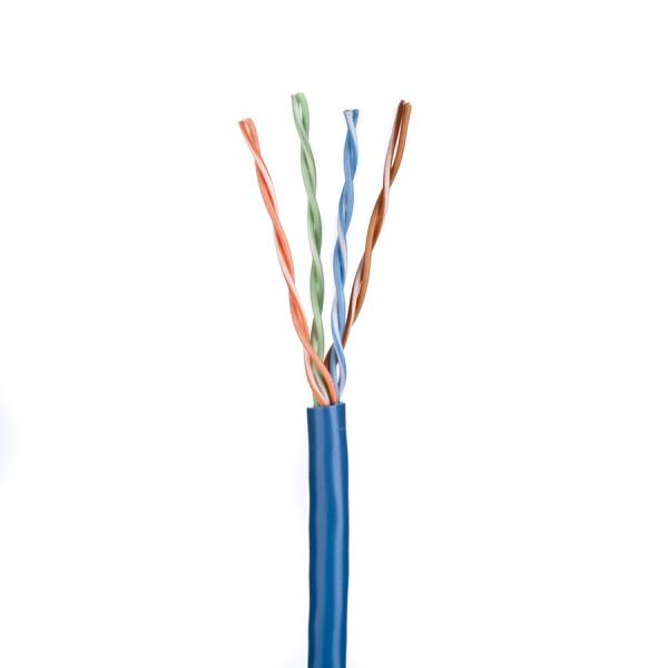 Cat5E Data Cable Solid U/UTP LSZH 4 Pair Blue 305m