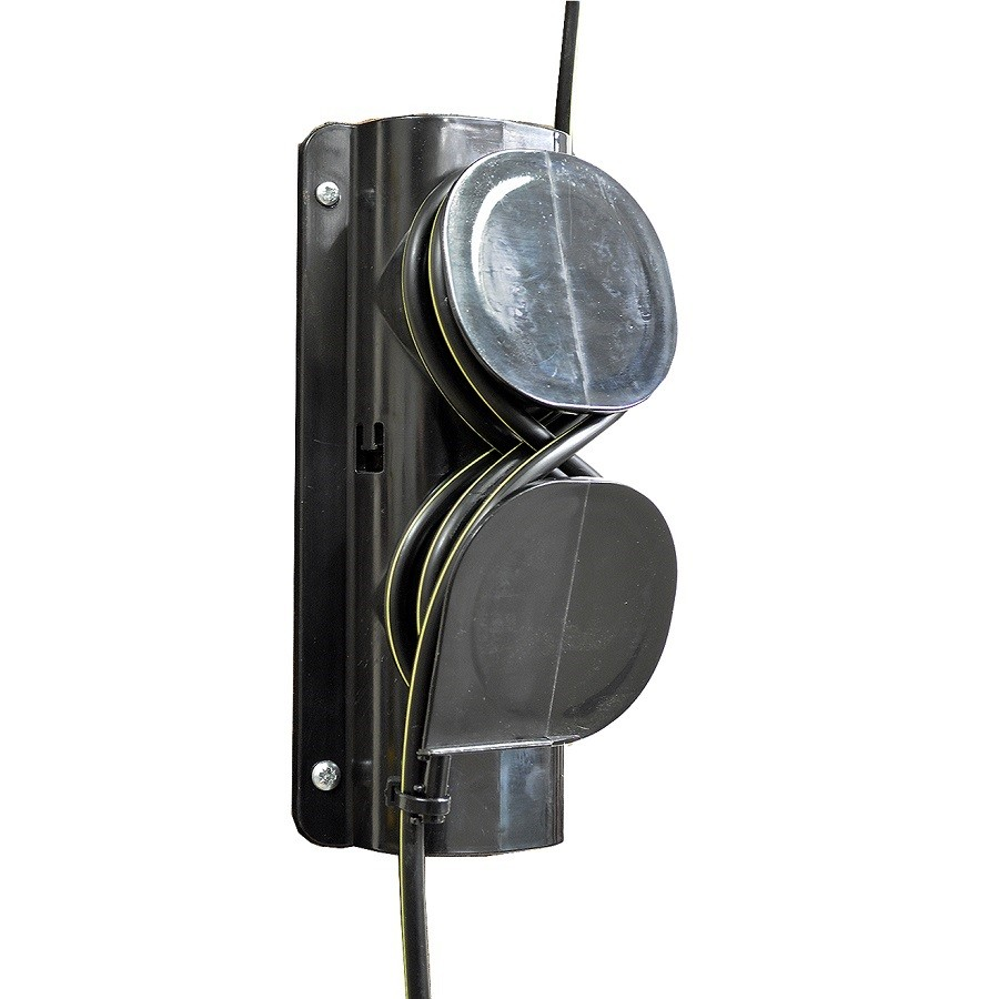 Fibre Locking Mechanism for Overhead Cables