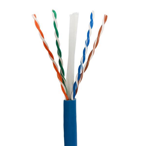 Cat6 Data Cable Solid U/UTP LSZH 4 Pair Blue 305m