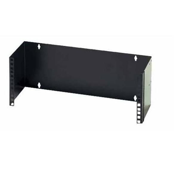 Hinged Wall Bracket Black (H) 6U x (D) 225mm
