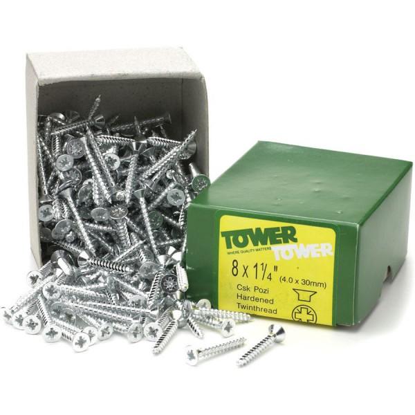Screws No.10 x 1″
