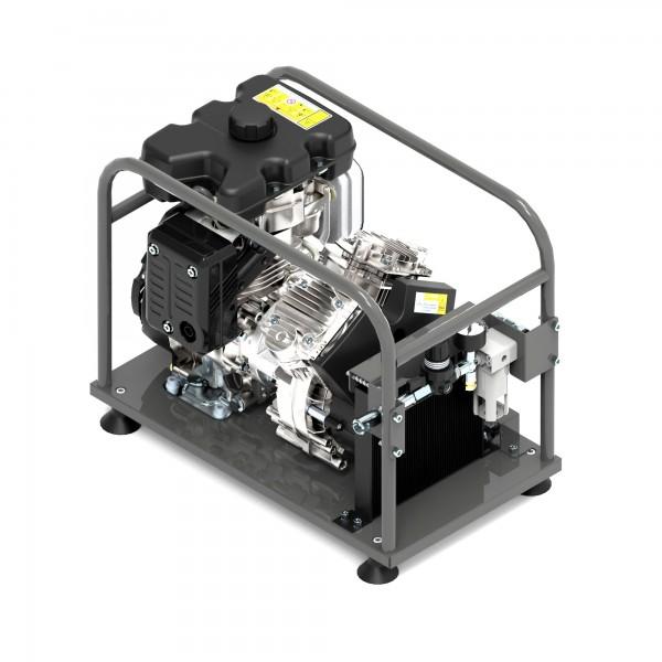 Fibre Blowing Compressor Petrol Engine Driven LM7010