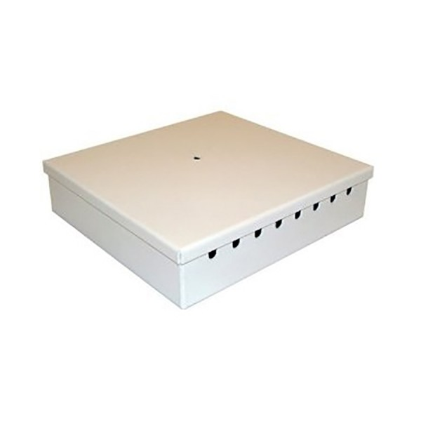 Fibre Optic Breakout Box Tamper Proof 16 Way MM LC Duplex